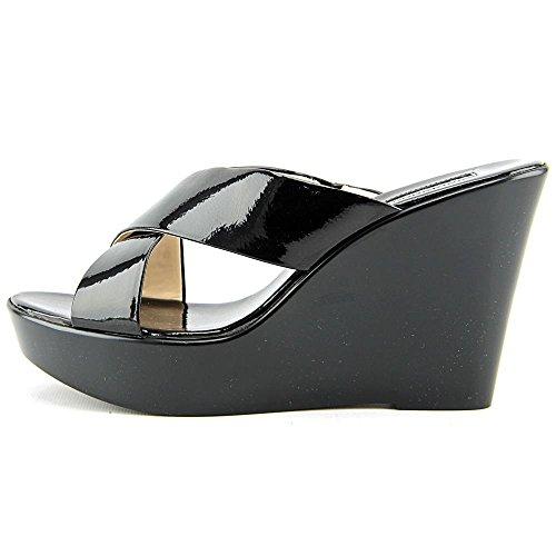 INC International Concepts Pammi Damen Synthetik Keilabsätze Sandale Black