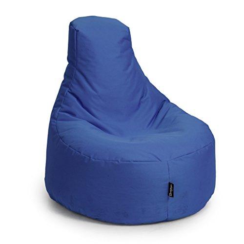BuBiBag Sitzsack Gamer Playstation Sessel Lounge Kissen original Sitzkissen für In & Outdoor...