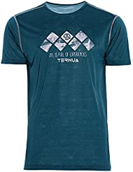 Ternua Marom Camiseta, Hombre, Azul (Duck Blue), XL