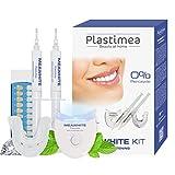 Zahnaufhellungs-Set für weiße Zähne Teeth Whitening Kit MEAWHITE - Effektive Zahnaufhellung OHNE PEROXID Professionelles Zahnbleaching für zuhause - Zähne bleichen bleaching home dental kit Zahnweiss