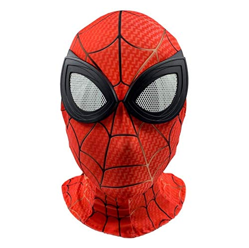 KOUYNHK Spiderman Masken Kinder,Superheld Film Requisiten Lycra Zubehör Party Fasching Kostümparty - Spiderman Modernen Kostüm