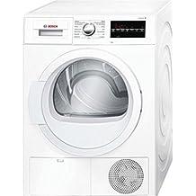 Bosch Serie 6 WTG86261EE secadora (Carga frontal, Independiente, Color blanco, Derecho, Botones, Giratorio, B)