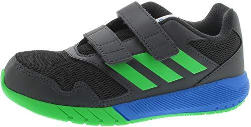 adidas Unisex-Kinder Altarun Cloudfoam Fitnessschuhe, Grau (Carbon/Verint/Azubri 000), 30 EU