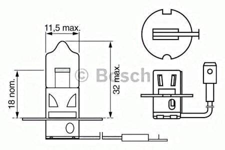 Preisvergleich Produktbild Bosch 1 987 302 431 Glühlampe