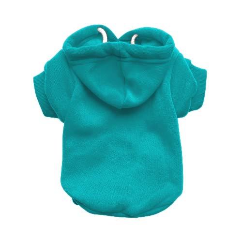 RichPaw Aqua Dog, Hoodie, Hoody, Hund Jumper, blau Hund Sweatshirt Aqua-sweatshirt