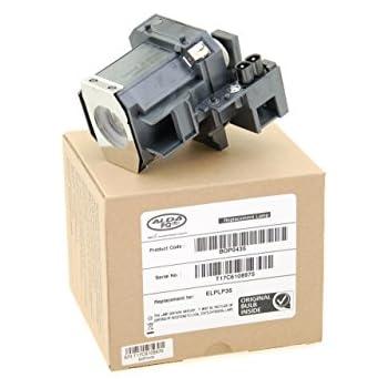 PowerLite HC 400 EMP-TW620 adatta per EMP-TW520 compatibile con Elplp35 PowerLite PC 800 EMP-TW680 EMP-TW600 Supermait EP35 Lampada di ricambio per proiettore con alloggiamento