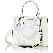 Damen Faye City Bag Henkeltasche, Weiß (Weiß), 12x27x25 cm Bulaggi