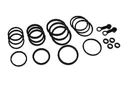 Bremssattel Reparatur Satz vorne für Kawasaki ZXR 750 J ZX750J 1991-1992, ZXR 750 R ZX750K 1991-1992, ZXR 750 R ZX750M 1993-1995, ZXR 750 H Stinger ZX750H 1989-1990