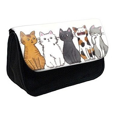 Youdesign - Trousse à Crayons/ Maquillage chat ref 298 - Ref: 298