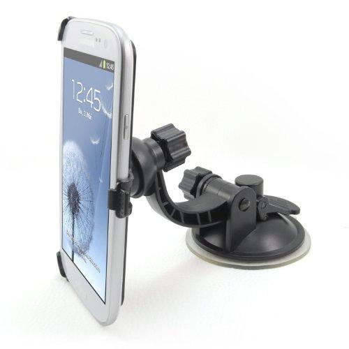 Incutex coche Teléfono Móvil Soporte para el soporte de ventilación rejilla de ventilación de su coche-Tija-para todos los modelos de teléfono móvil, perfecto para iPhone 3G, 3GS, 4, 4S, iPhone 55C 5S, Samsung Galaxy S4, S2, S3, S5Nokia, HTC Desire HD, Sony Ericsson Xperia, Rim BlackBerry Torch 9800y muchos más,