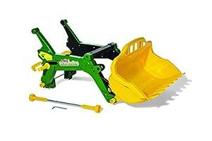 Rolly Toys 408955 RollyToys RollyTrac - Cargador para niños de 3 a 10 años, Color Verde