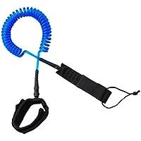 Sharplace Correa para Tabla de Surf Paddle Leash Shortboards Longboards Funboards Cordón Súper Fuerte - Azul