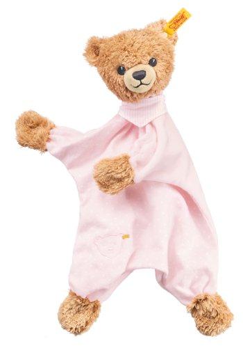 Steiff 239533 - Schlaf Gut Bär Schmusetuch, 30 cm, rosa (Teddy Bear Für Mädchen)
