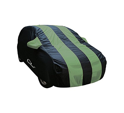 Autofurnish Stylish Green Stripe Car Body Cover For Maruti Celerio...