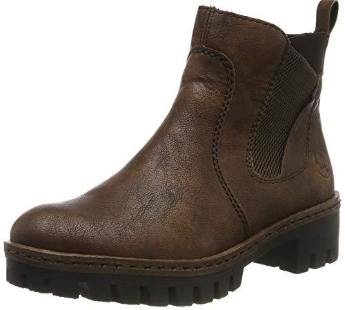 Rieker Damen 75754 Chelsea Boots, Braun (Mogano/Brown 25), 39 EU