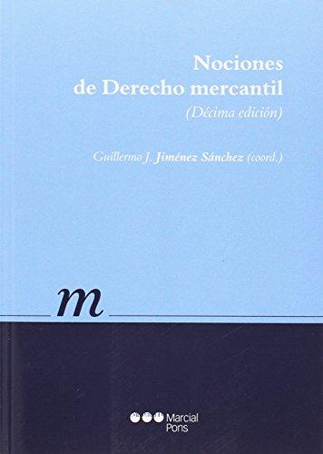 Nociones de Derecho mercantil (Manuales universitarios)