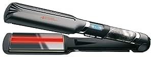 Imetec Bellissima Absolute BA 230 Piastra per Capelli, Sistema Infrared Ion Technology, Rivestimeno Gloss & Shine, Regolazione Elettronica della Temperatura da 160°C a 230°C