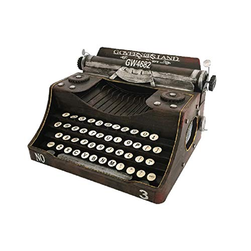 SKY-Home Vintage Schreibmaschine Für Zuhause/Büro / Arbeitszimmer Dekor Dekoration Altmodisches Schreibmaschinen-Modell Geburtstags-Weihnachtsfest-Geschenke Die Geschenke