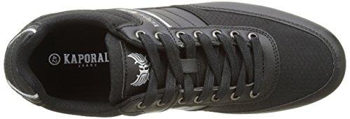 Kaporal Carnaby, Baskets Basses Homme Noir (Noir)