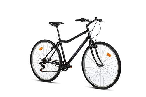 "Moma Bikes Bicicleta Paseo MOD280, 28\"", SHIMANO 6V, Frenos V-Brake Aluminio"