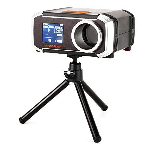 KOBWA Chronograph für Luftgewehrschießen, Professioneller LCD-Display mit Chronograph, BBS-Geschwindigkeitstester mit Stativzubehör