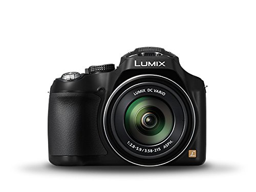Panasonic Lumix DMC-FZ200 Point & Shoot Camera (Black)