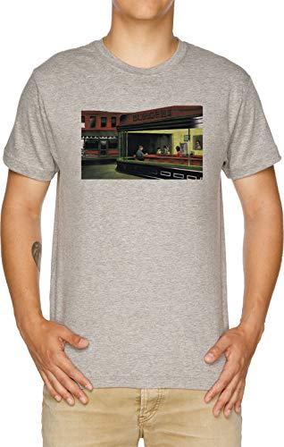 Nacht Burgers - Bob Burgers Herren T-Shirt Grau