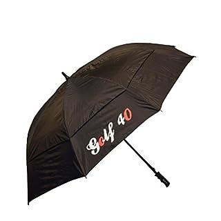 GS01: manuell Schirm Golfschirm Regenschirm mit Windcutter Carbon XXL 140cm