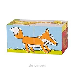 GOKI- Puzzles 3DPuzzles 3DGOKIPuzzle de Dados, Animales, Multicolor (1)
