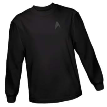 Command Emblem On Black -- Star Trek Into Darkness Adult Long-Sleeve T-Shirt, XX-Large