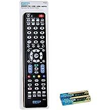HQRP Mando a distancia para Samsung JU6400; UE40JU6400K, UE48JU6400K, UE50JU6400K, UE55JU6400K UHD Smart TV