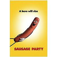 "Sausage Party ""Teaser Maxi Poster, Multi-Colour preiswert"