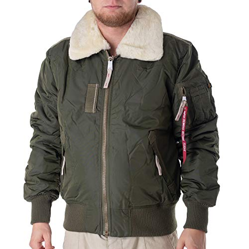 Alpha Industries Injector III Jacke Oliv XXL