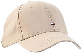 Tommy Hilfiger Damen Baseball Cap BASIC CAP / E487625069, Einfarbig, Gr. One size, Beige (PEBBLE-EUR)