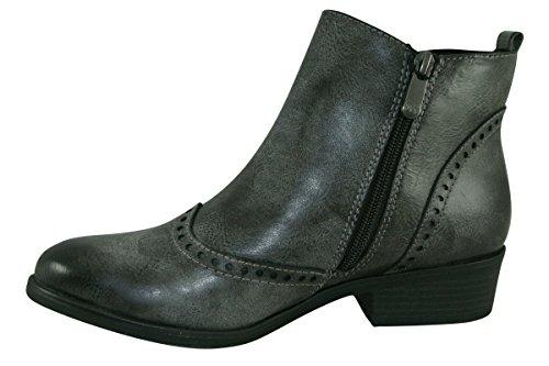 E Cinza Marco Botas Tozzi Boots Ankle q0w0zEaTX
