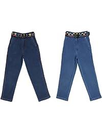 Magic Attitude Boy's Regular Fit Denim Jeans Pack of 2