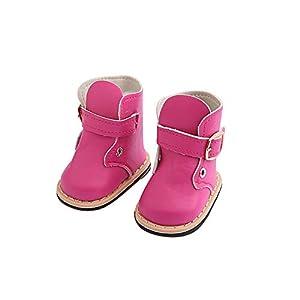 Puppenschuh, YUYOUG 1 Paar Nette Mode Stiefel Wram Winter Schuh Für 18 Zoll Unsere Generation Amerikanische Puppe Zubehör Mädchen Spielzeug Weihnachten Geburtstagsgeschenk