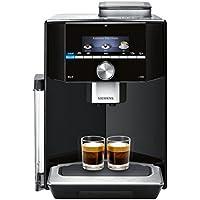 Siemens EQ.9 s300 TI913539DE Kaffeevollautomat (1500 Watt, Integriertes Milchsystem, One Touch, Reinigungsprogramm, Doppeltassenbezug,) schwarz