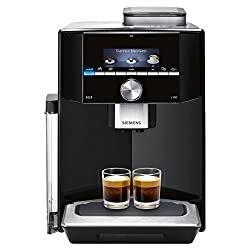 Siemens EQ.9 s300 TI913509DE Kaffeevollautomat (1500 Watt, Keramik-mahlwerk, 1 Bohnenbehälter, kleines TFT-Display) klavierlack schwarz