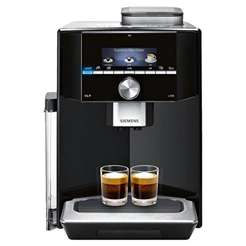 eq6 plus s700 Siemens EQ.9 s300 TI913509DE Kaffeevollautomat (1500 Watt, Keramik-mahlwerk, 1 Bohnenbehälter, kleines TFT-Display) klavierlack schwarz