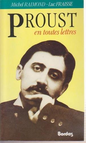 Proust en toutes lettres