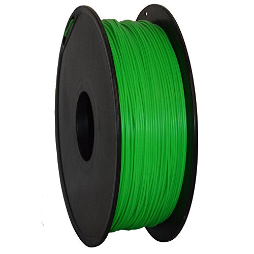 Geeetech 3D Filament, PLA Filament 1,75mm 1Kg, Hohe, zuverlässige Qualität. 3D Druck Filament für 3D Drucker, Farbe: Grün