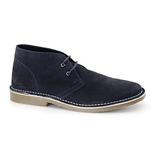 RoamerM056BS - Stivali Desert Boots uomo Blu (Blu)