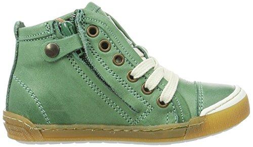 Bisgaard Schnürschuhe, Sneakers basses mixte enfant Grün (1001 Green)