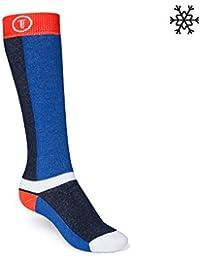 ThokkThokk Freestyle Plüsch Socken orange/midnight/blue