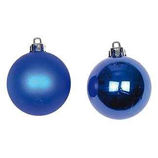 Autour de Minuit 5BOP038BF Juego de 6 Bolas de PVC Unido Azul Real Diámetro 6 cm