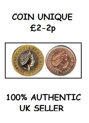 MÜNZE EINZIGARTIG p TRICK [MAGISCH VANISHING Münze 0,9 kg und 2 PENNY]