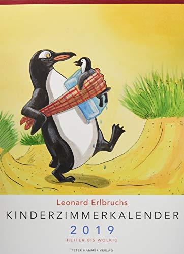 Leonard Erlbruchs Kinderzimmerkalender 2019: Heiter bis wolkig