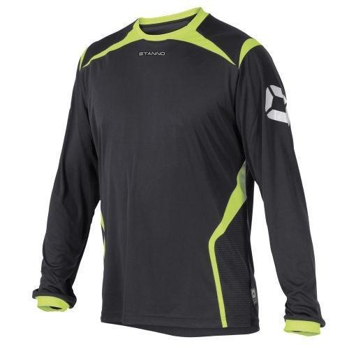 Stanno Torino Camiseta de L.A. Grau-Neon Gelb, Hombre, Anthracite/Neon Yellow