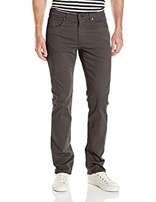 """J Brand Jeans Men's Kane Straight-Fit Pant with 34"""" Inseam"""